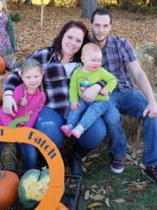 Alexis Flack-Crowe and Family